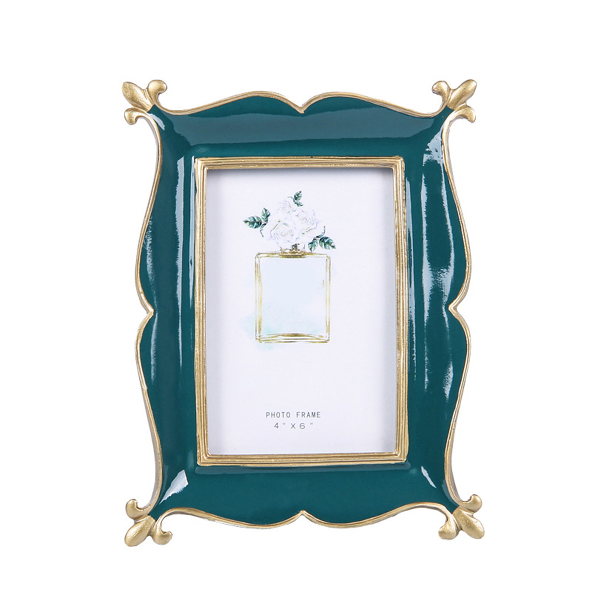 21.5X16.5X1.5cm Wooden Photo Frame Retro For Wedding Party Family Home Decor Picture Desktop Picture Frame Art Gift Ornament