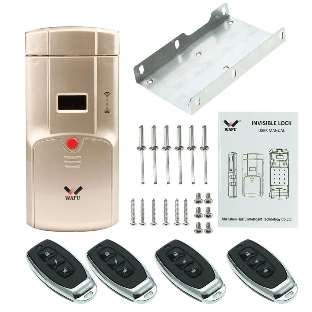 HF-011A serrure intelligente empreinte digitale écran tactile sans clé Bluetooth serrure intelligente alarme intégrée serrure de sécurité pour le bureau à domicile