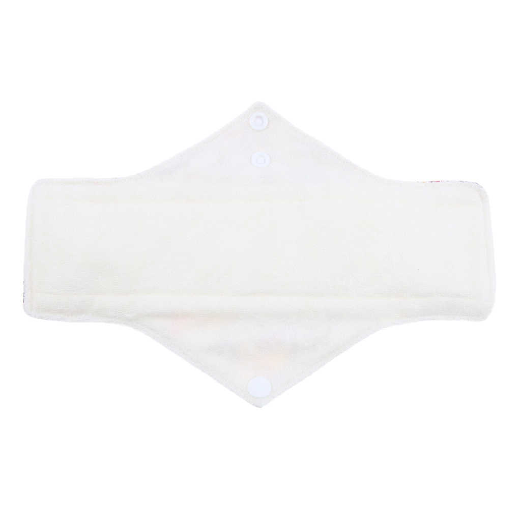 洗える綿生理用ナプキンタオル月経パンティパッドランダム女性の月経期間または産後