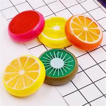 Kids Fruit Slime Toy Magnetic Clay Color Crystal Slime Mud Transparent For Children Intelligent DIY Plasticine Mud Playdough(China)