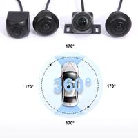 360 Degree Panorama System 4 Cameras 720P Car DVR Recording Rearview Camera ARM Visual Parking Monitoring for HD Parking View