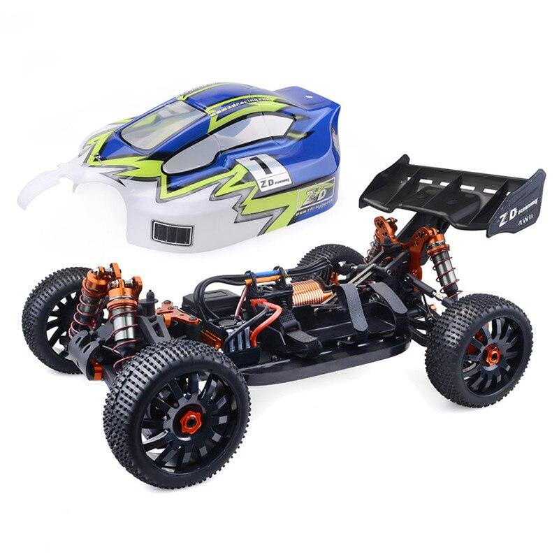 Haute qualité ZD Racing 9020-V3 1/8 4WD 70 km/h haute vitesse Buggy voitures télécommandées 120A ESC 4274 moteur sans balais voiture