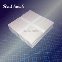 5/10/20/50/100pcs AAA+ Balsa Wood Sheet 100x100x1mm Model Can be Used for Military RC plane Models etc Smooth DIY