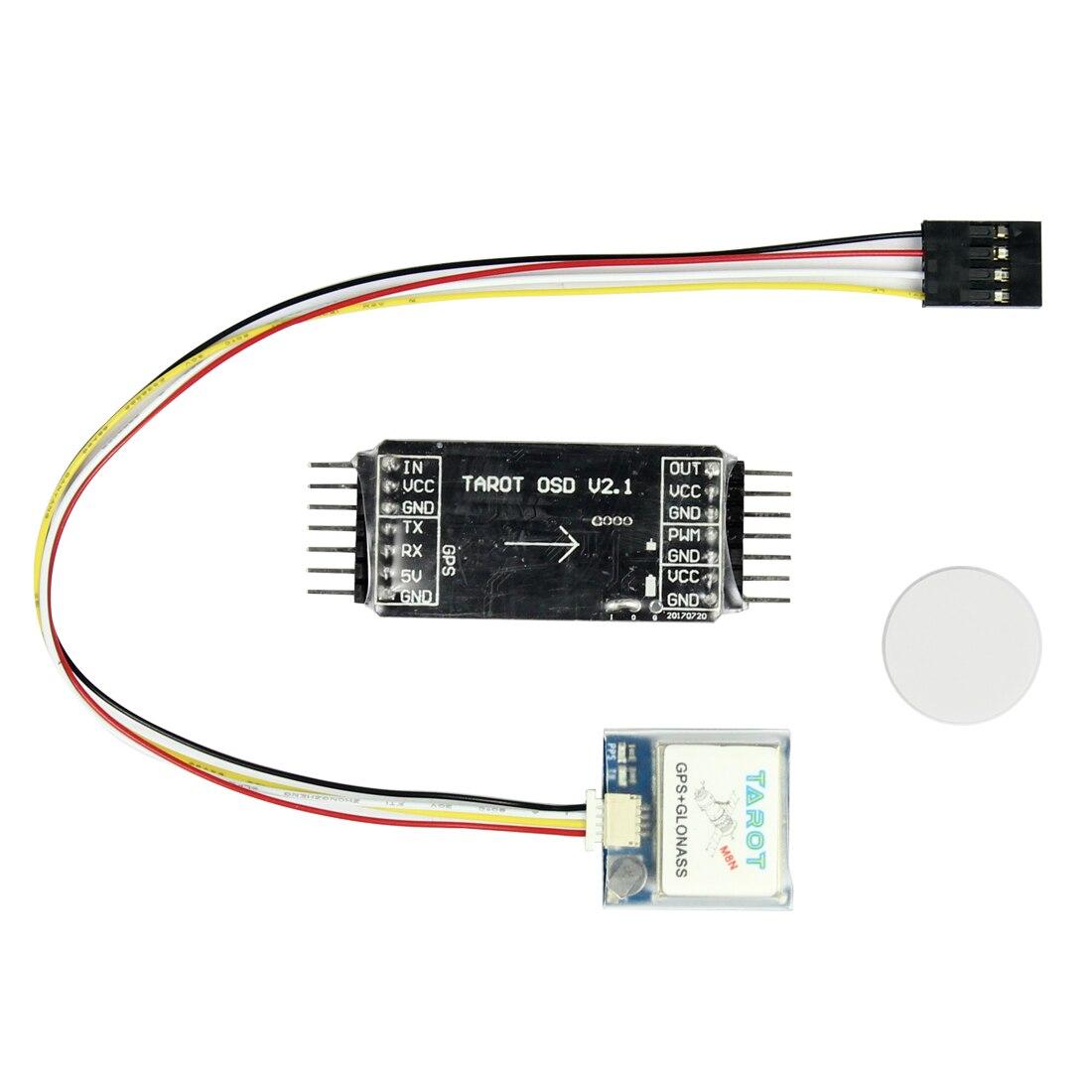 Tarot TL300L2 Mini OSD Sobreposição de Imagens/Sistema de GPS Para FPV Zangão Multirotor Quadcopter Aircraft