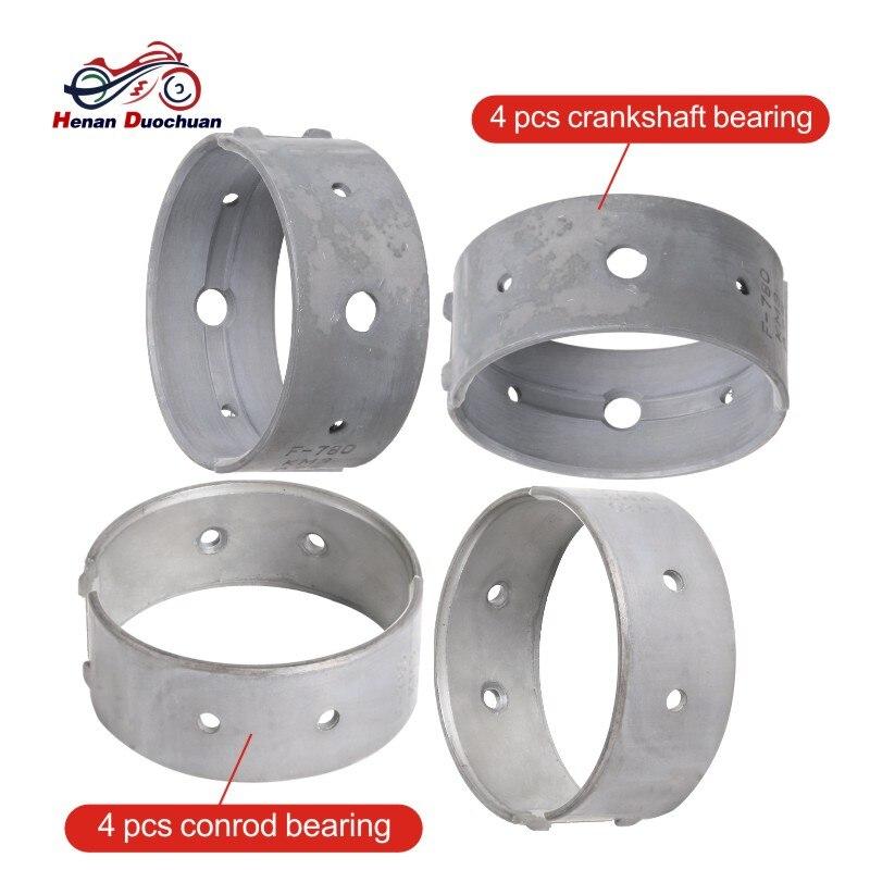 Motorcycle Engine Con Rod Bearing & Crankshaft Tile For Honda VTR250 VTR 250 1997-2012 Connecting Rod End Bearings Crank Shaft