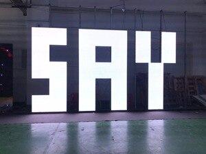 Image 1 - 500x500 mét trong nhà rgb led hiển thị màn hình p3.91 trong nhà die cast nhôm tủ cho thuê video quảng cáo tường màn hình led