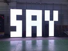 500x500mm indoor rgb led…