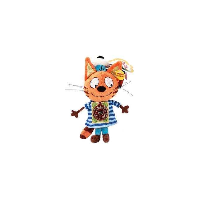 Мягкая игрушка Мульти-Пульти 3 кота Коржик, озвученная, 18 см