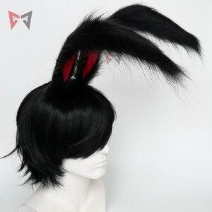 Image 5 - Neue Kaninchen Königreich Cosplay Carnaval Gothic Lolita Acessories Fuchs Ohr Haar Hoop Headwear Für Mädchen Frauen Kinder Hand Arbeit