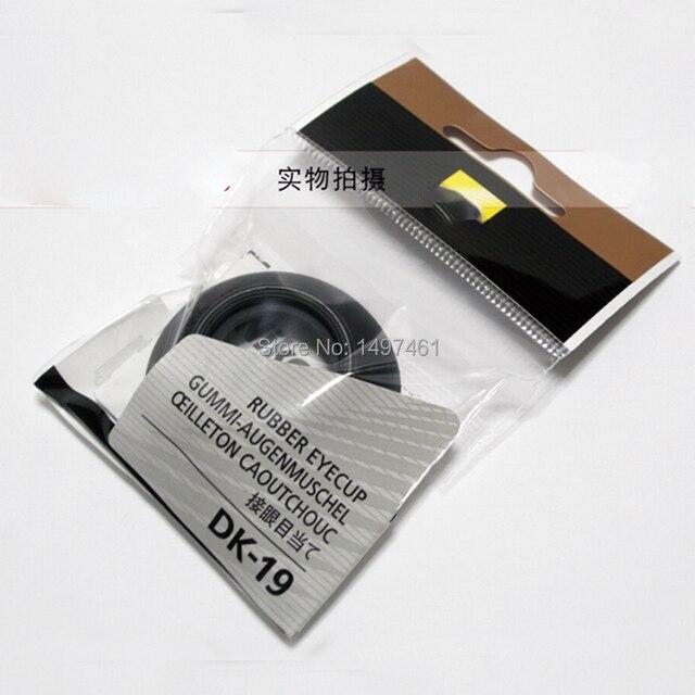 Nova original Genuine DK 19 DK19 Visor Ocular de Borracha para Nikon D810 D800 D800E D3S D3X D4 D4S D700 SLR