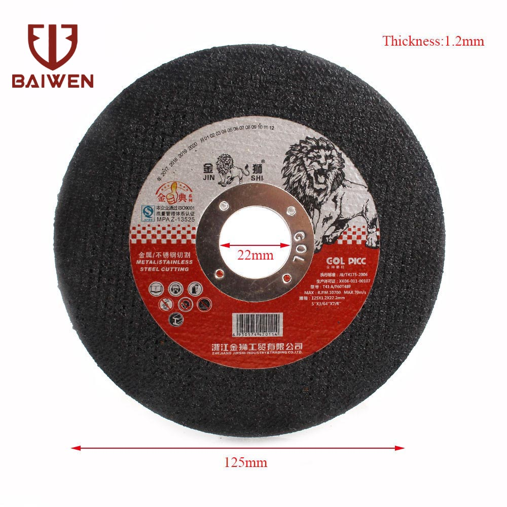 5-25Pcs 125mm Ultrathin Resin Cutting Disc Grinding Wheel For Metal Stainless Steel Cutting Angle Grinder Cut-off Wheel