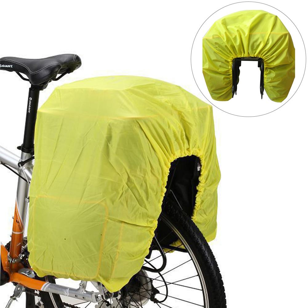 Bicycle Bag Road Bike Rear Seat Rain Cover Luggage Waterproof Bag Rainproof Dust Cover Protective Equipment Foldable Rain Covers