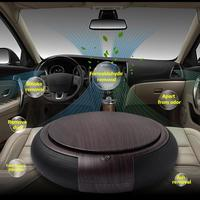 Portable USB Ionizer Car Air Purifier Filter Humidifier Remove Cigarette Air Freshener Smoke Dust Purification Air Cleaner