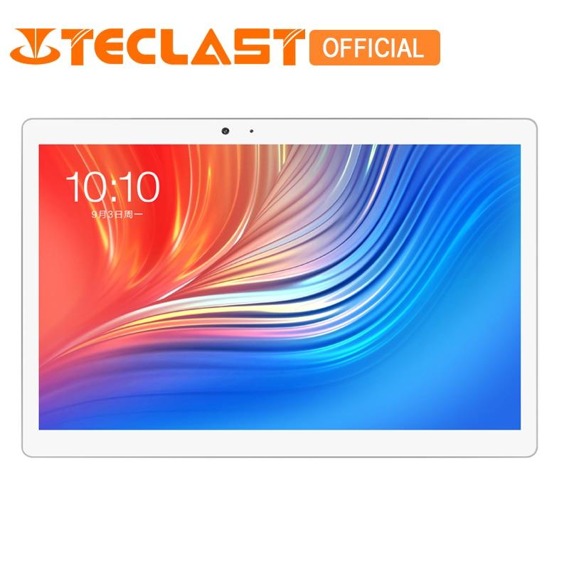 Teclast T20 4g LTE Réseau Tablet PC Serrure D'empreinte Digitale MT6797 X27 Deca Core 4 gb ROM 64 gb RAM double WiFi 13.0MP 10.1 pouce GPS