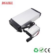 Free shipping 250W electric bicycle luggage rear rack battery pack 24V 10ah with 20A BMS