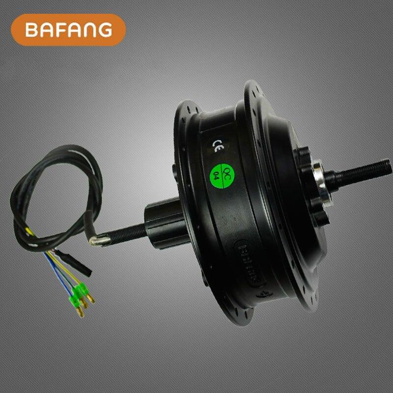 전기 자전거 Ebike를위한 8fun / bafang 무 브러시 설치된 Dc 카세트 최신 후방 허브 모터 48v 500w