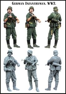 [tusk model]1/35 Scale Unassembled Resin figures resin model Kits E0141(China)