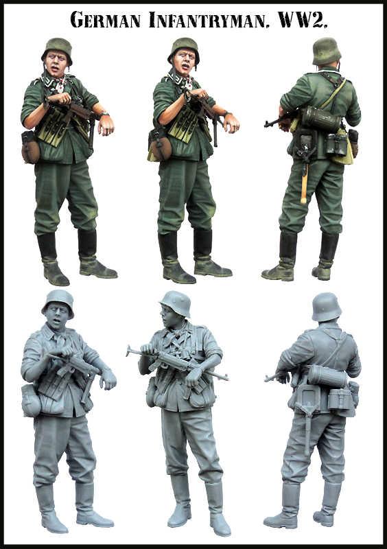 [Model tuska] 1/35 skala niezmontowane żywiczne figurki model z żywicy zestawy E0141