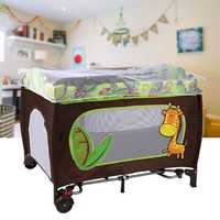 104X78X76cm Multifunctional Portable Folding Baby Cribs Game Bed Travel Sleeper Cot Playpen Newborn Bassinet Furniture With Net