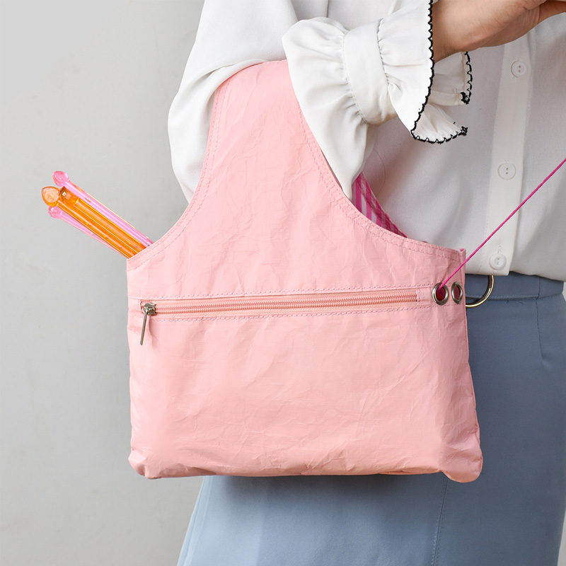 Yarn Sewing Tool Small Projects Storage Bags Yarn Storage Organizer DIY Apparel Needlework Storage Knitting Tote Bag