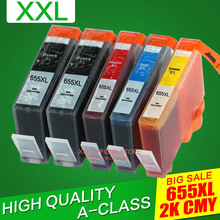 Для hp 4615 чернильный картридж для hp Deskjet 4615 чернильный картридж для принтера 655 S655 с чипом с чернилами