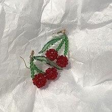 цена на Red Cherry Earrings Eardrop Sweet Fruit Fresh Cherry Eardrop Female Fashion Beautiful Students Earrings For Women