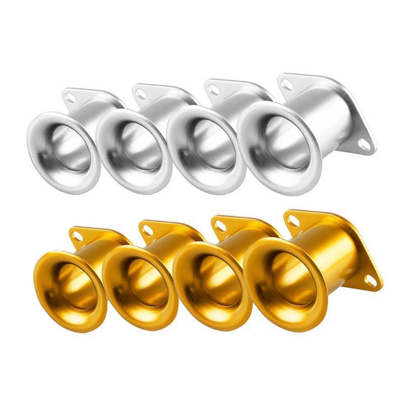4 Pack Ensemble De Voiture Repose Pour Toyota AE86 Série 20 V En Alliage D'aluminium Petit Corne Décoration De Voiture Auto Accessoires