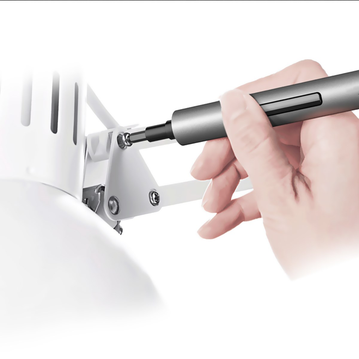 1F Pro мини электрическая отвертка аккумуляторный Аккумуляторный шуруповерт отвертка комплект светодиодный свет литиевая батарея для Wowstick