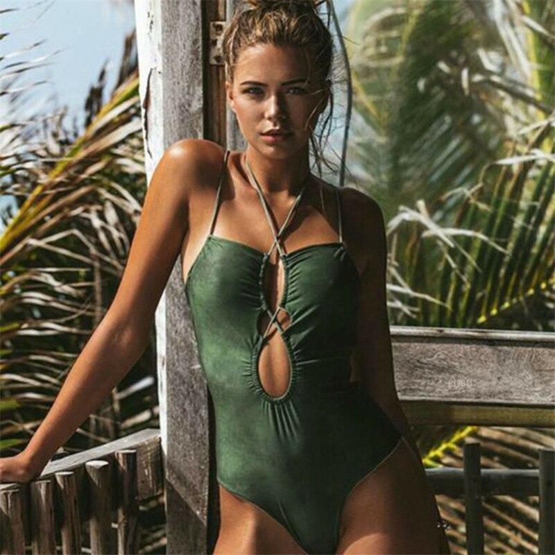 Sexy retro ternos de uma peça monokini plus size roupa de banho feminina maiô de uma peça meninas badpak swim wear maiô biquini