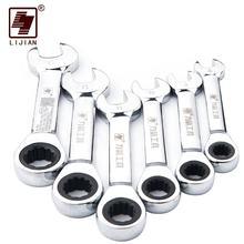 Lijian ручной гараж автомобильные инструменты ключи дюймовый