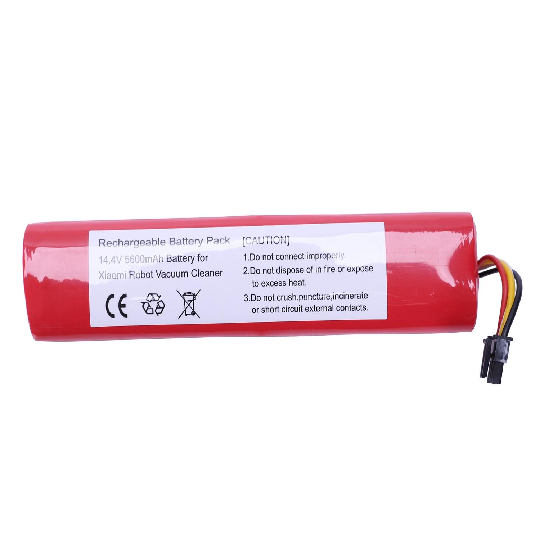 Meilleure Vente Rechargeable 5200 batterie mah Pour Xiaomi robot aspirateur Li-Ion Lithium Accessoires Pièces