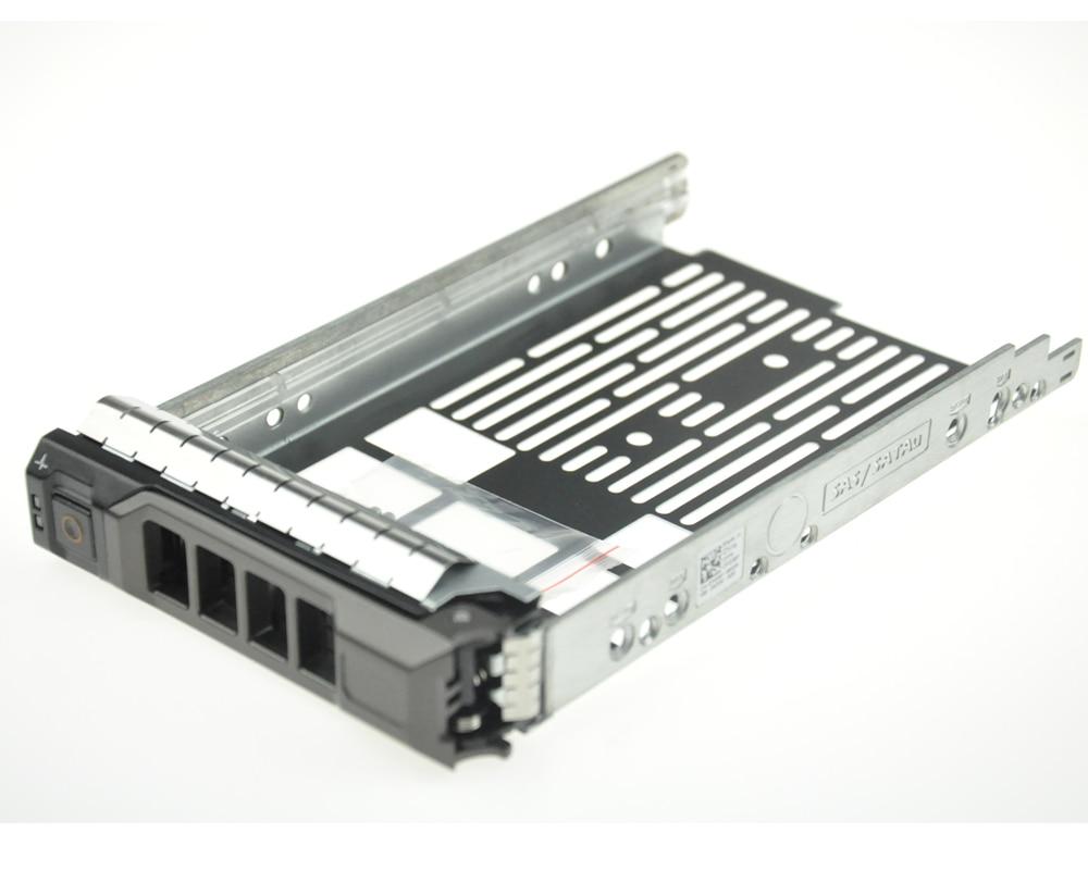 "Dell 3.5 SAS Tray Caddy Sled W 2.5/"" Adapter Bracket G302D F238F X968D R710 T710"