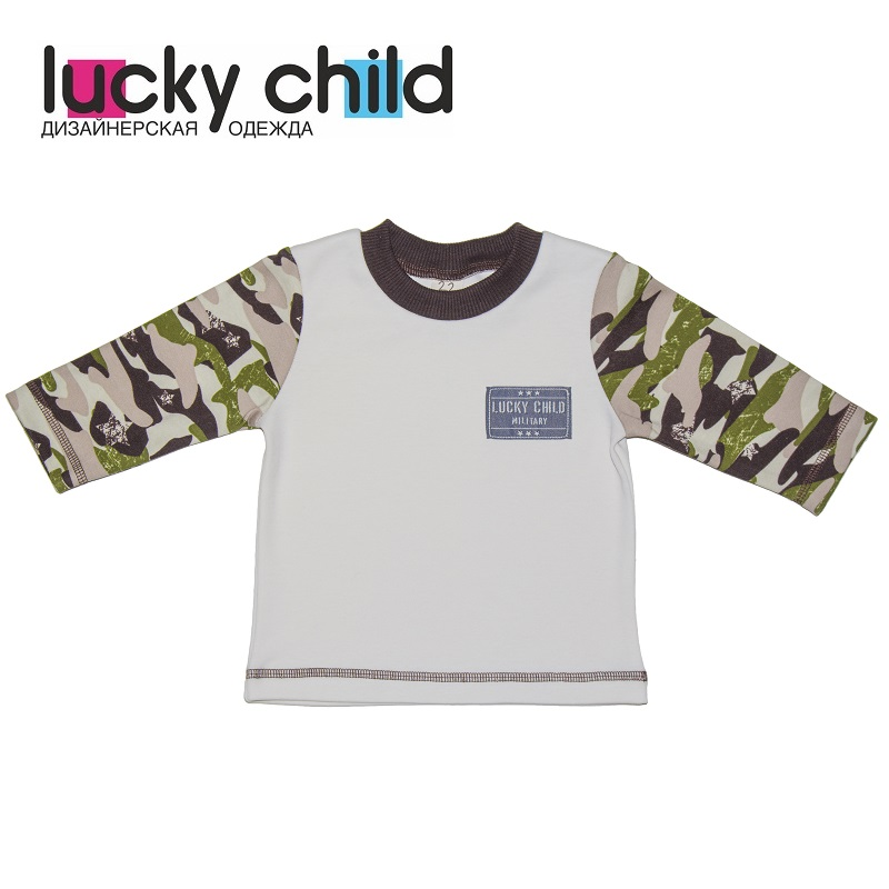 все цены на Hoodies & Sweatshirts Lucky Child for girls and boys 31-12 Kids Tops Children clothes онлайн