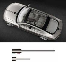 Car Styling Head Sticker Black Vinyl Hood Decals Stripe For Mercedes Benz