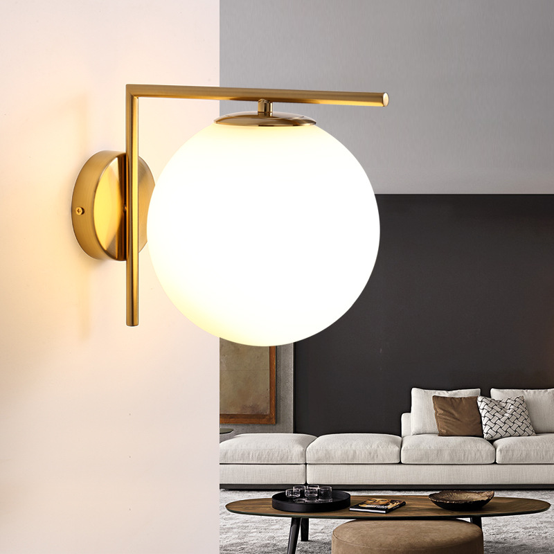 Rotation Simple Retro New Chinese Style Bedroom Led Wall Lamp Aisle Corridor Hotel Club Bedside Lamp Frosted GlassRotation Simple Retro New Chinese Style Bedroom Led Wall Lamp Aisle Corridor Hotel Club Bedside Lamp Frosted Glass