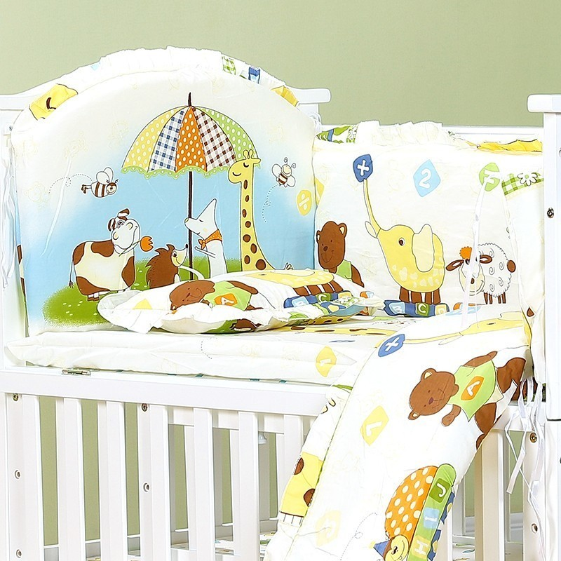 Sporting 120*70cm 6pcs Pure Cotton Baby Bed Bumper Removable Newborn Baby Bedding Crib Bumper Baby Room Decor Kids Bedding Complete Range Of Articles Baby Bedding