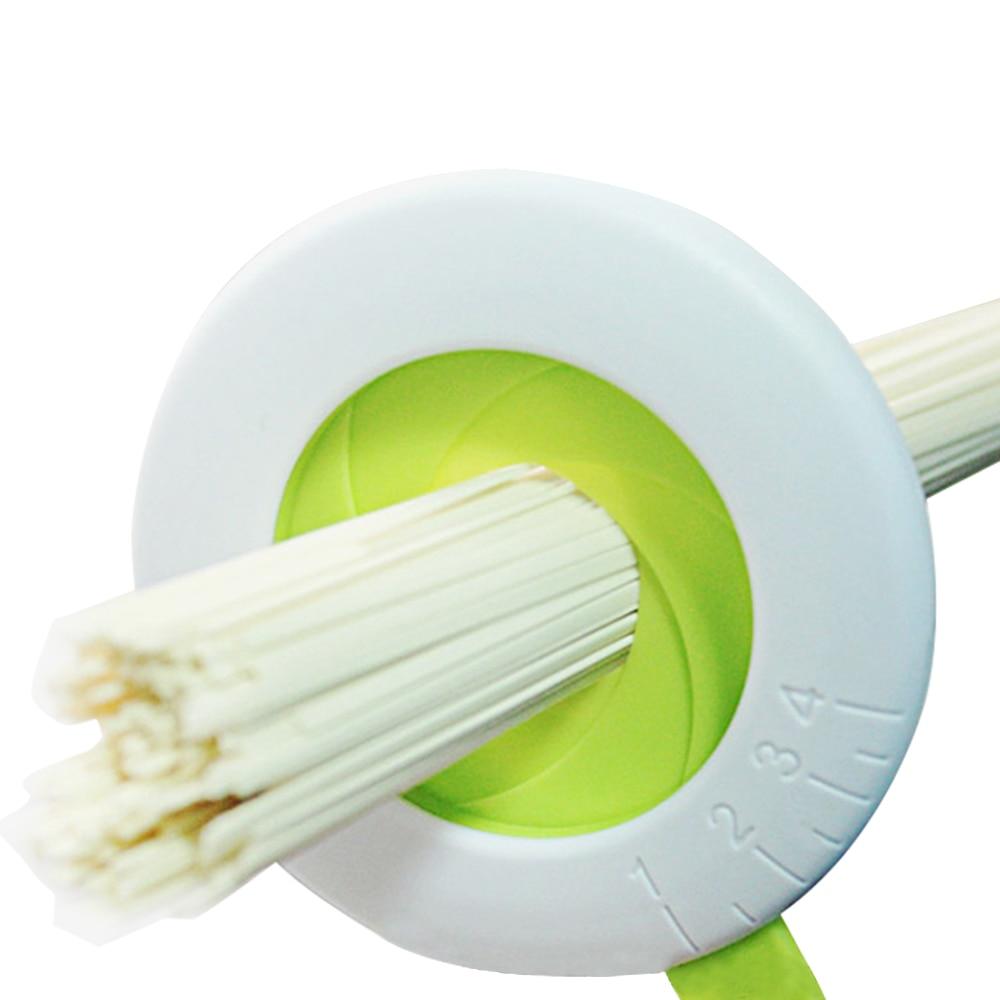 調節可能なスパゲッティ測定コントローラツールパスタ麺測定ツールプラスチックキッチンアクセサリー