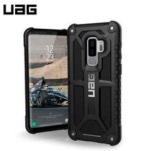 Защитный чехол UAG Monarch Samsung Galaxy S9 Plus цвет черный/GLXS9PLS-M-BLK/32