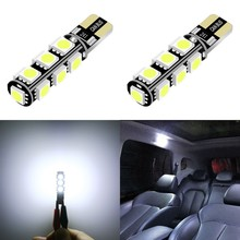 1 Piece T10 W5W LED Car Lights Bulbs 194 13SMD Led Lamp Reading White 12V