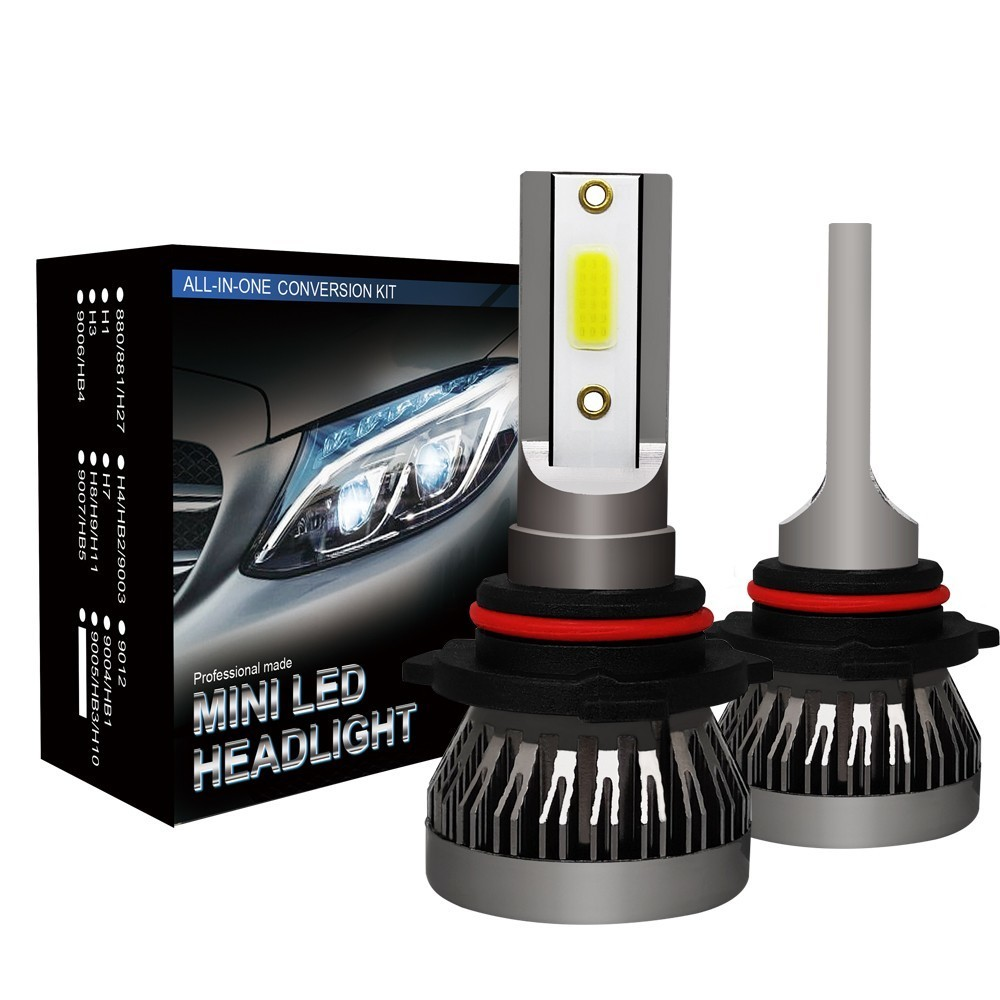 CROSSTIGER Car headlight Mini Lamp H7 H4 LED Bulbs H1 LED H8 H11 Headlamps Kit 9005 HB3 9006 HB4 6000k Fog light 12V LED Lamp36W image
