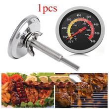 Stainless Steel BBQ Smoker Grill Thermometer Temperature Oven Grill Cooking Temp Gauge 50 to 800Fahrenheit(China)