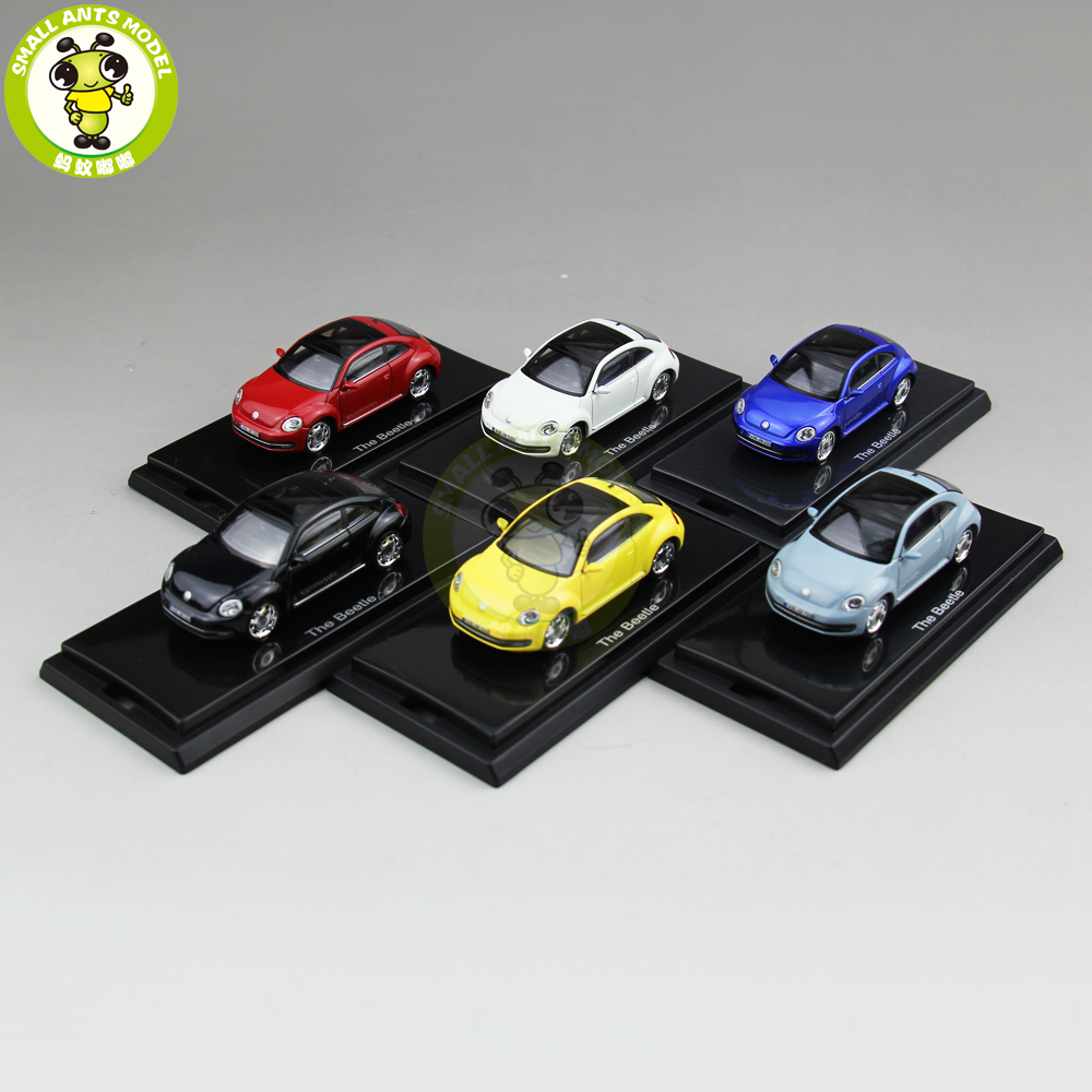 1/64 New Beetle Car Diecast Metal Car Model Toys For Kids Boy Girl Gift Hobby Collection