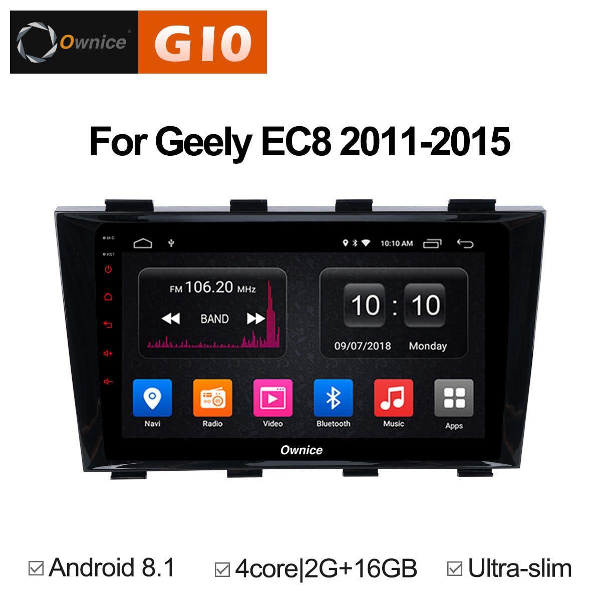Для Geely Emgrand EC8 2011 2012 2013 2014 2015 штатную Авто Tablet PC dvd плеер gps навигационная карта радио автомобиль Android