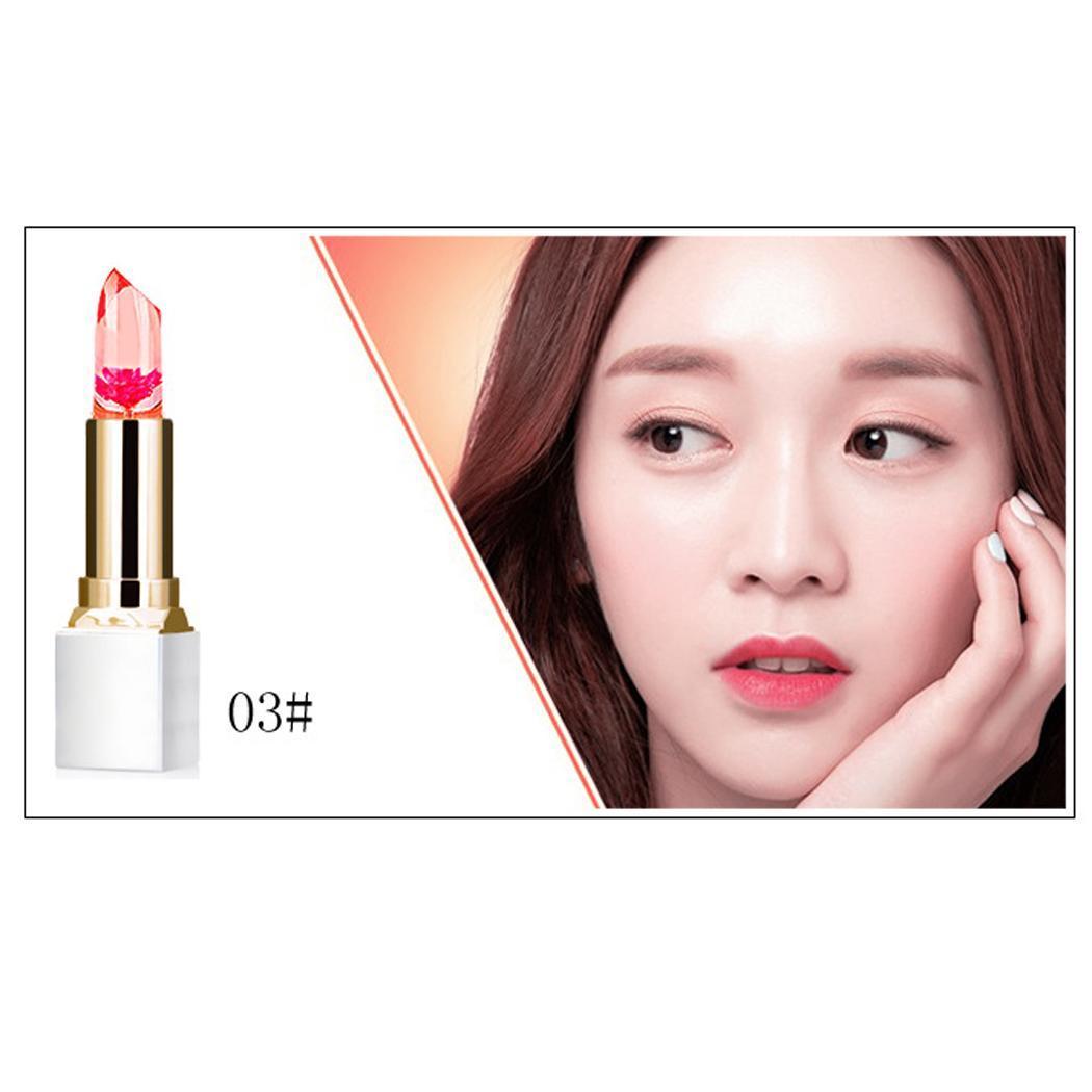 Желе цвет губная помада свет 3 Макияж изменение Роза г 5 г красный красота розовый питательный розовый для женщин пластик увлажняющий