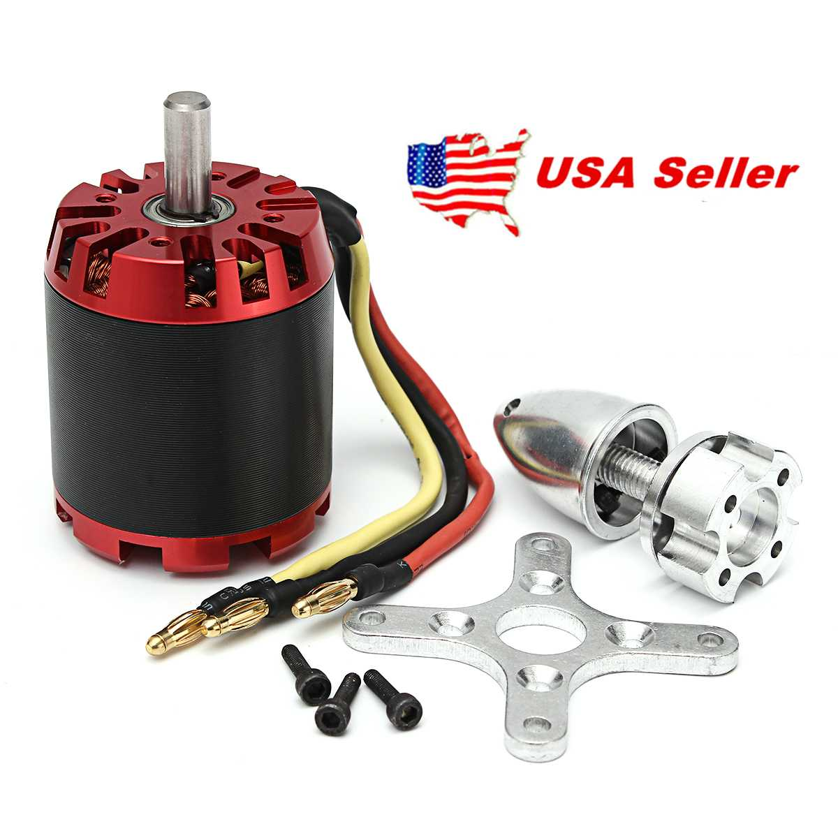 N5065 400KV 1665W High Efficiency Brushless Motor For RC Model Multicopter Skate Scooter Skateboard Set DIY Electric Skate Board