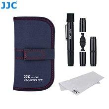 JJC zestaw do czyszczenia obiektywów do aparatu Canon Nikon Sony Fujifilm Pentax Panasonic Leica DSLR Clean Tool