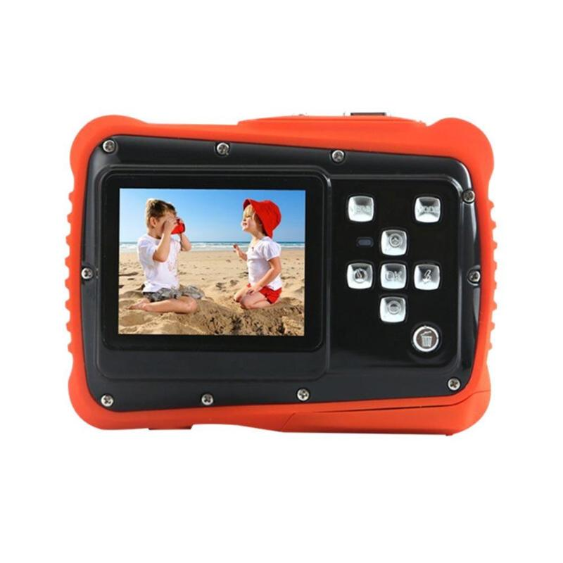 Enfants Cartton Mini caméra numérique 2 pouces 12MP HD 720 P étanche caméscope Portable enregistreur vidéo avec Microphone jouets de noël - 2