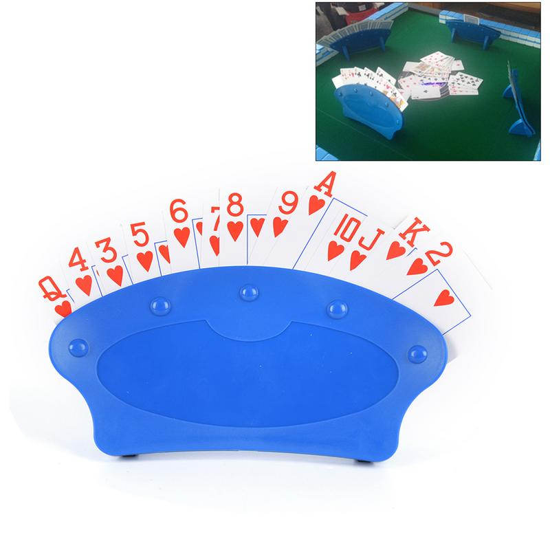 New Poker Seat Playing Card Stand Holders Lazy Poker Base Game Organizes Hands For Easy Play Christmas Birthday Party