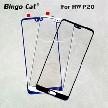 AAA+ New Replacement Touch Panel Front Outer Glass Lens for Huawei P20 Pro P20pro LCD DisplayTouch Screen External Cracked