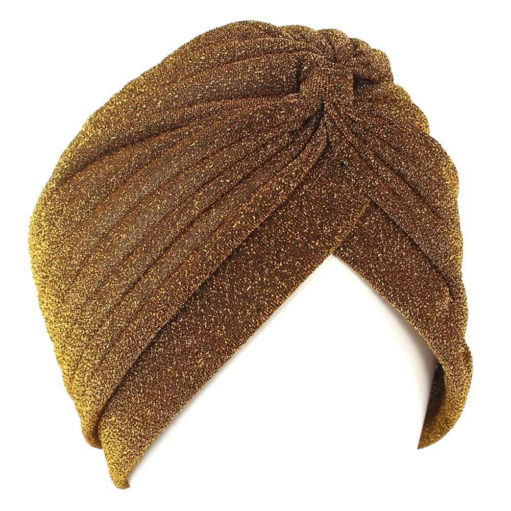 Heldere Hoofdband Zijden Tulband Voor Vrouwen Moslim India Hoed Vrouwen Stretch Soft Hajiabs Knoop Twist Head Warp Bandana Haaraccessoires